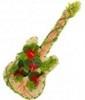 Цветочные композиции.  Сертификаты.  Композиция в форме гитары.  Букеты цветов.